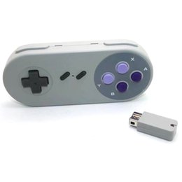 Wholesale Usb Controller Gamepad - xunbeifang Wireless Button Style Controller Gamepad for SNES mini console