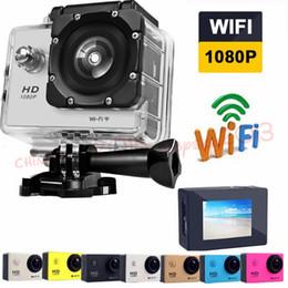 2019 caméra d'action automobile hd Plein HD 1080P SJ4000 Wifi Caméra de sport HD caméra étanche DV DVR avec le paquet de détail caméra d'action automobile hd pas cher