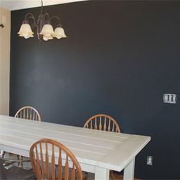 Wholesale Metal Blackboard - Chalk Board Blackboard WallPapers Removable Vinyl Draw Decor Mural Decals Art Chalkboard For Kids Rooms Wallpapers 60*200CM