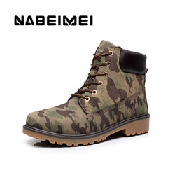 Canada Mode armée vert plate-forme bottes chaussures hommes grande taille 39-46 imperméable à l'eau d'hiver cheville bottes chaudes chaussures de moto supplier green motorcycle boots Offre