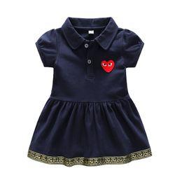 Vestidos de verão infantil tutu on-line-Verão infantil roupas de bebê recém-nascido meninas tutu vestido de princesa vestidos de festa para meninas do bebê roupas vestido de manga curta crianças vestir
