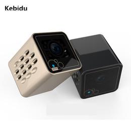 Wholesale Ir Cut Ip Cameras - Kebidu Fashion Mini Portable Sports Camera HD Wireless Wifi IP IR-Cut Night Vision Monitor Home Security Surveillance Camcorde
