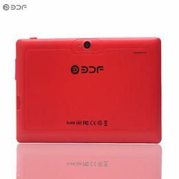 Tablet barato quad core on-line-Novo 2017 barato 7 polegada Quad Core Tablets pc edição wi-fi de 512 MB 8 GB dual câmera agradável design adequado para presentes 1024 * 600 7 8 9 10