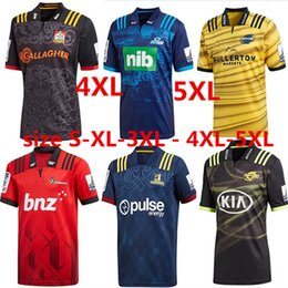 Wholesale Extra New - 2018 CRUSADERS Super Rugby Home Jersey New Zealand Super Rugby Jersey Crusaders 17 18 Rugby League Adults euro Extra large size S-3XL-5XL
