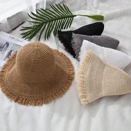 Chapéus de velejador de verão Para As Mulheres Chapéu De Sol De Palha  Senhora Meninas Rendas Panma Praia Chapéu Floppy Feminino Viagens Dobrável  Chapeu d19c2fba856