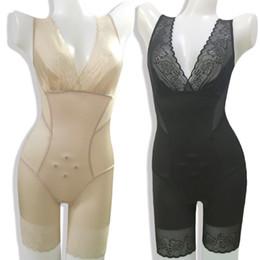 2019 vestido corset de una pieza Body Shaper Mujeres Sexy Adelgazante Entrenador de cintura Postparto Body Sculpting Vestido de una sola pieza Sección delgada Hip Shapewear Abdomen Corset vestido corset de una pieza baratos