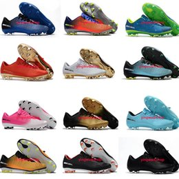 Wholesale Football Height - Cheap Turf Soccer Cleats Mercurical Victory XI FG Low Top Soccer Shoes Outdoor Ronaldo Cleats Football Boots Cr7 Mens Orange