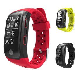 Pulseira gps para crianças on-line-Makibes g03 ip68 esporte rastreador com gps monitor de freqüência cardíaca atividade rastreador pulseira de fitness para ios android