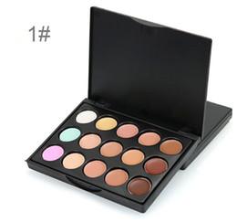 Wholesale Corrector Palette - New 15 Mini Colors Base concealer Makeup Foundation Face Contour Palette Bronzer Corrector Primer MakeUp Contouring