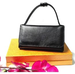 Wholesale Office Bags For Women - Ladies handbag,clutchmini shoulder bag lychee pattern geniune leather multiple card holder for office lady evening party ball multifuctional
