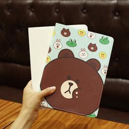 mini étuis en cuir pour ipad Promotion Étui en cuir de bande dessinée mignon petits animaux pour iPad Mini 1 Couverture de support pour Apple iPad Mini 1 Fit pour modèles iPad livraison gratuite PCC074