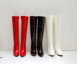 7ece1d98934 Faux Suede Women Over Knee Boots Lace Up Sexy Flat Scok Shoes Woman Female  Slim Thigh High Boots Botas Winter Shoes Big Size 34-46