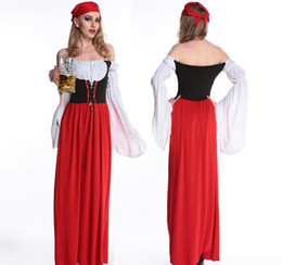 Argentina En realidad, tomar fotos, exportar vestidos de disfraces de Oktoberfest alemanes, traje de mucama, modelos femeninos, disfraces de piratas, disfraces de Halloween Suministro