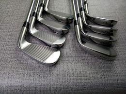 Zurdo 8PCS A3 718 Set de hierro 718 A3 Golf Hierros forjados Palos de golf 3-9Pw R / S Flex Steel / Grafito Eje con tapa de cabeza desde fabricantes