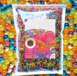 Canada Perles d'eau Mélange arc-en-ciel pour spa recharge jouets sensoriels boules de cristal décoration de la maison cadeau expédition US Offre