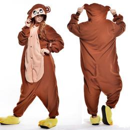 Wholesale Fox Pajamas - Unicorn Pegasus Zebra Panda Donkey Monkey Skull Horse Raccoon Bear Fox Onesie Womens Animal Pajamas Sleepwear For Women