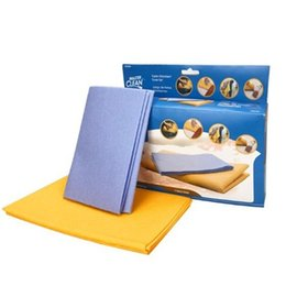Wholesale Kitchen Scouring Pads - Shamwow Towel Water Absorbent Cloth Dish Towels Rag Cleaning Cloths Kitchen Household Nonstick Oil Hot Sale 13 9zb V