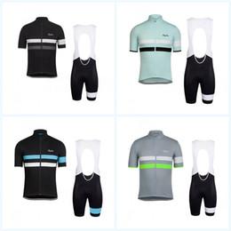Frauen radsport bekleidung team online-Transpiration Team Radfahren Jersey Set Outdoor Berg Kurzen Ärmeln Kreative Sport Für Männer Frauen Absorption Bunte Fahrrad Kleidung 93la jj