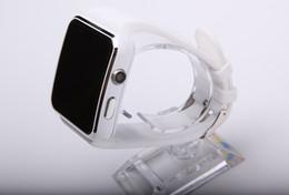 Reloj teléfono inteligente 1.54 online-Bluetooth smart watch X6 con cámara Soporte para tarjeta SIM Android 1.54 pulgadas LED Smartwatch para teléfonos ios android DHL gratuito
