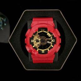 niño nuevo reloj deportivo Rebajas Nuevo impacto de alta calidad marca de moda reloj deportivo hombre impermeable Big Boy LED digital multifunción, zona múltiple, caja, entrega gratis