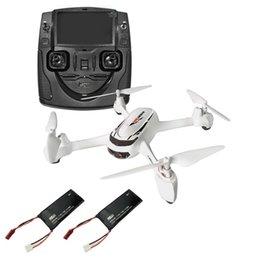 Wholesale rc quadcopter frame - JJRC Hubsan H502S X4 FPV RTF GPS Quadcopter 720P HD Camera 2.4G 4CH Remote Controller Extra 2 Batteries RC Airplanes Frame