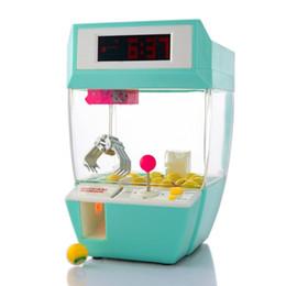 Bonbons Grabber Mini Claw Machine Jeu Crane Grabber Jouet Électronique Table De Bureau Montre Numérique Nixie Enfants Réveil pour Enfants ? partir de fabricateur