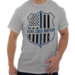 75c6613d388 Details zu Blue Lives Matter Shirt