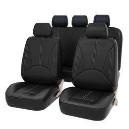 Wholesale Universal Leather Car Seat Covers - wholesale PU Leather Car Seat Covers Universal Fit For Toyota VW Chevrolet Ford Nissan Automobile Seat Covers