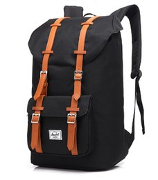 Wholesale backpacks for women travelling - 2018 Hot Sale Top Copy Brand Little America Backpacks Bags For Men and Women Black Navy Wine Gray Green With Wholesale Price Free Shipping