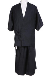 Disfraces de dios online-Cosplay Costume Bleach Death God Shinigami Kimono