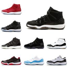 buy popular e51ab 0e040 großhandel kleider für frauen Rabatt Großhandel 11 11s Cap und Kleid Herren  Basketball-Schuhe Concord