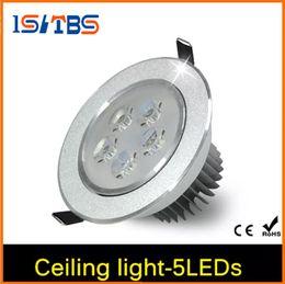 Atacado-4Pcs 15W CREE LED Downlight AC 85V - 265V com LED Driver impermeável recesso luz do ponto para a iluminação interior de casa de