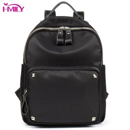 ef31189a70fa HMILY Female Shoulder Bag High Quality Oxford Women Backpack Waterproof  Black Color School Bag Women Leisure Ladies Travel Bag