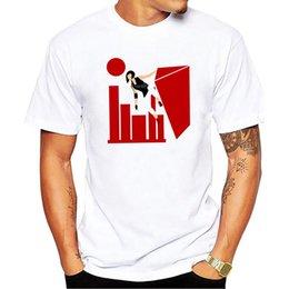Runner Summer Funny camiseta de los hombres de moda de manga corta 100 algodón Cool Designer para niños Tops desde fabricantes