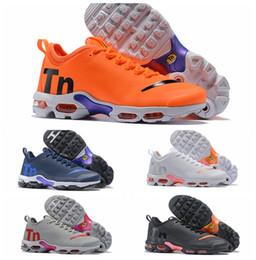 2018 Nuevo Mercurial Nike Air Max Tn Plus 2 Running Shoes Chaussures maxes naranja para mujer para hombre TNs deportes diseñador zapatillas de deporte al aire libre tamaño 36-46 desde fabricantes