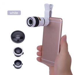 super wide angle fisheye lens Coupons - 1Pcs VBESTLIFE 5 in1 8x Telescope+Macro+Wide-angle+Super Wide-angle+180 Degree Fisheye Lens for Smartphone Free Shipping