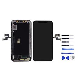 Wholesale Nouvelle arrivée couleur parfaite OEM LCD OLED pour iPhone x aucun affichage de pixel mort pour iPhone lcd remplacement avec livraison gratuite