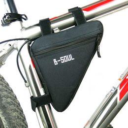 Triangle Bike Bag Marco del tubo delantero Ciclismo Bolsas de bicicleta Impermeable MTB Road Pouch Holder Saddle Bicicleta Bike Accesorios desde fabricantes