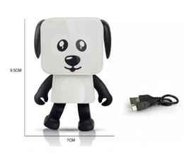 Wholesale dance touch - 2018 Mini Bluetooth Speaker Smart Dancing Dog Speakers New Multi Portable Bluetooth Speakers Loudspeaker Creative Gift free shipping