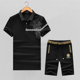 c9dbd6a78bd 2018 New Fashion Summer Short Sets Men Casual Coconut Island Printing Suits  For Men Chinese Style Suit Sets T Shirt +Pants