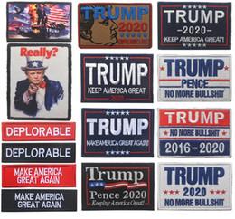 Le patch TRUMP2020 permet aux États-Unis de rester à la tête du drapeau américain Drapeau de moral tactique ? partir de fabricateur