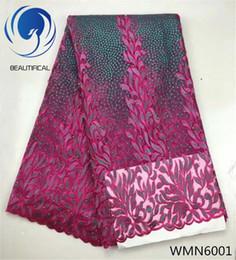 nigerian lace dubai 2019 - 2018 african french lace fabrics 5 yards dubai  wholesale embroidery nigerian 8ccc572a7ab1