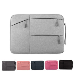 Wholesale Apple Macbook Pro Pouch - High Quality Fashion Designer Laptop Sleeve Bag Briefcase Pouch Storage Inner Bag For Macbook Air Pro For Apple Samsung Dell 11-15 Inch