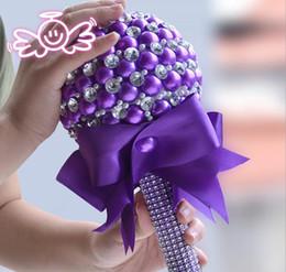 Вечный ангел труба жемчужина фиолетовый невесты холдинг цветок свадебный подарок cheap angels trumpet от Поставщики ангел труба