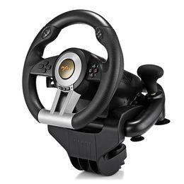 руль с кожаной обивкой Скидка PXN Racing Game Steering Wheel USB Game Controller Компьютерный тренажер для вождения автомобилей для ПК Wii Games Колесо для PS3 PS4 Xbox