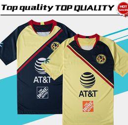 ddf7cf5081d69 2019 Club de Futbol America home Jersey de Futbol 18 19 Club de Futbol  America away Camiseta de Futbol personalizada Mexico club football uniform  Venta