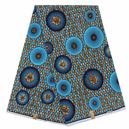 Wholesale Wholesale African Clothes - 2018veritable dutch real print wax african hollandais clothing 100% cotton fabric for making dress 6yds lot BW73