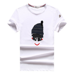 a1f4ecb89a Vente chaude T Shirt Hommes Été Casual Mince À Manches Courtes Mode Imprimé  T-shirt Coton O-Neck T-shirts Tops # 0881 Brand Men's Clothing