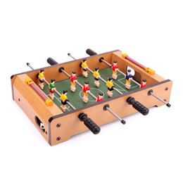 Wholesale Foosball Tables - Mini Table Foosball Game Set Soccer Table Kids Portable Game Toy Gift New