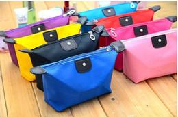 bolsas de embrague ocasionales Rebajas 2018 color caramelo bolsas de maquillaje de viaje de señora bolsa de bolsa de cosméticos bolsa de embrague bolso colgante de la joyería monedero ocasional